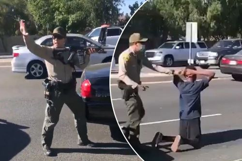 LA deputies point weapons at black teens who were attack victims