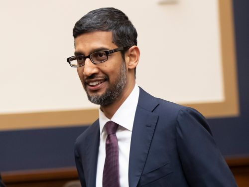 Google's CEO explains why a picture of Donald Trump comes up when you search for 'idiot'