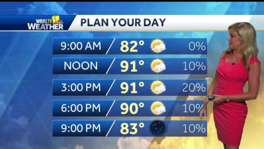 Hot, Humid With The Chance For A T'Storm Around Sunday