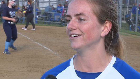 Williamsburg softball player overcomes life-threatening car crash, becomes one of best players in state