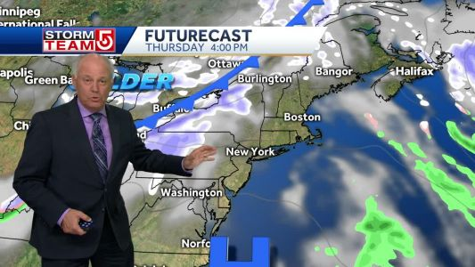 Video: More cold air moves into New England by weekend