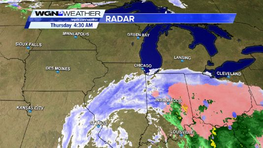 Winter Weather Advisory for southernmost portion of the Chicago area this Thursday morning