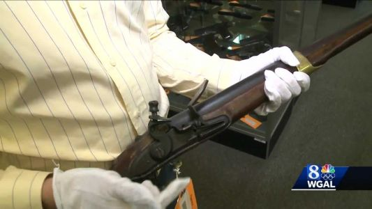 Musket used during Revolutionary War will be auctioned off