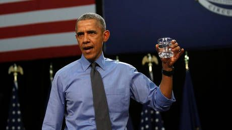 Obama mocked after promise to take Covid-19 vaccine on camera, Twitter recalls Flint water-drinking 'stunt'