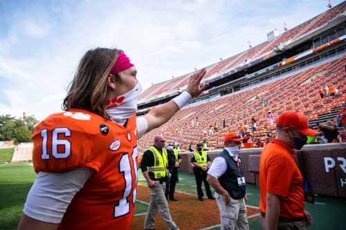 Trevor Lawrence to miss Clemson's game versus Notre Dame due to COVID-19