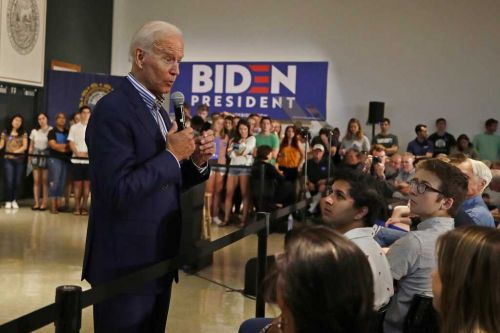 In NH, Biden asks what if Obama had been assassinated?