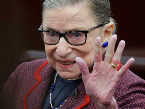 Vandals deface Ruth Bader Ginsburg posters in New York City with Nazi symbols