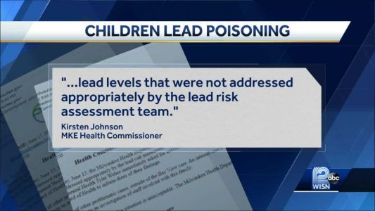 City under fire after multiple children found with elevated lead levels in bloodstream