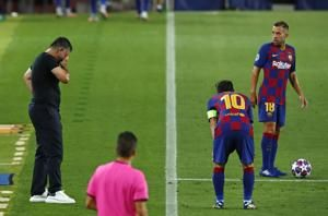 Messi set to recover from knock ahead of quarterfinals