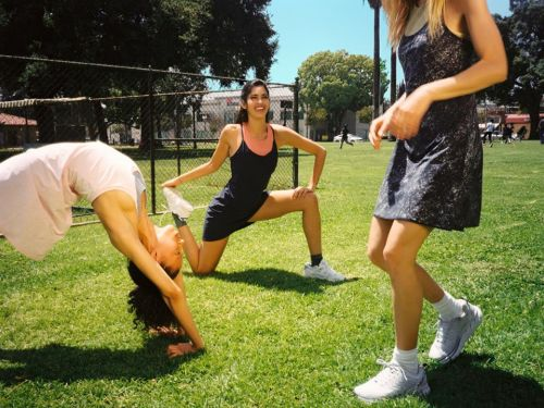 I worked out in a dress from Outdoor Voices, the startup behind the most Instagram-worthy exercise clothes, and it was surprisingly practical