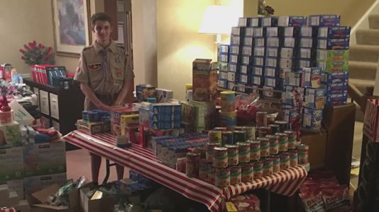 Eagle Scout heading to college leaves behind club that's helping US veterans