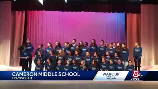 Wake Up Call from Cameron Middle School