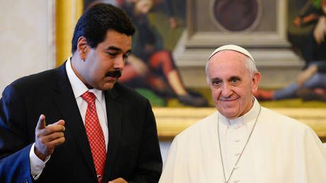 'Tired of politicized pastors': Maduro alerts Pope that Venezuelans are DITCHING Catholicism