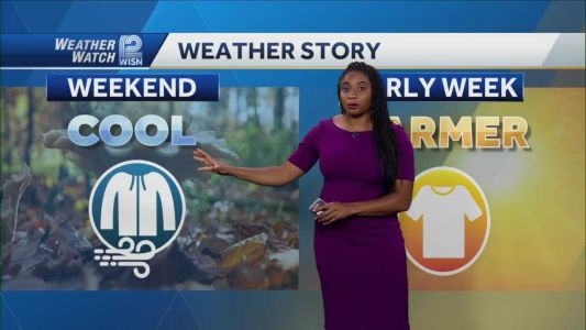 Videocast: Sunny, Windy and Cool Saturday