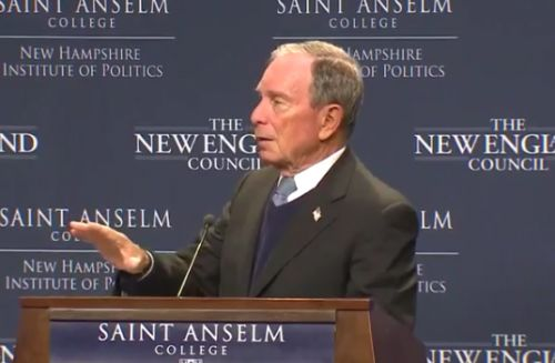 Bloomberg to bypass NH, other early voting states, in expected run for president