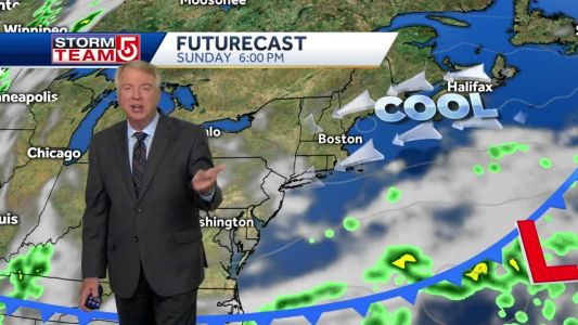 Video: Weekend starts sunny, turns cloudy by Sunday