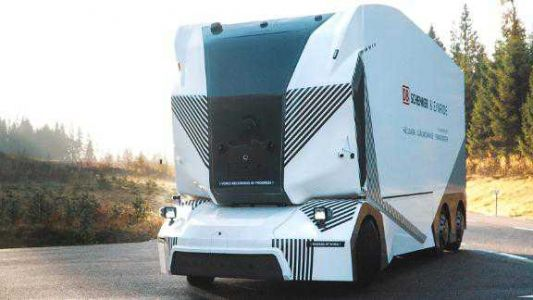 This 26-ton truck is driving itself on public roads
