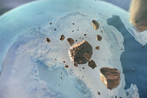 Massive crater from Ice Age-era asteroid that slammed Earth discovered