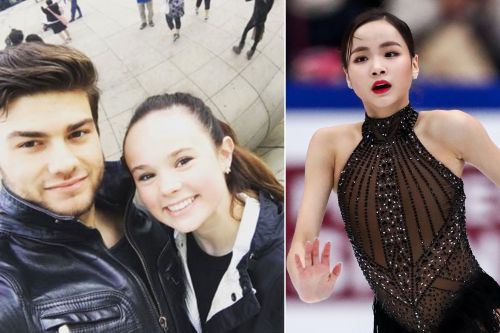 Boyfriend defends skating star accused of slashing competitor with blade