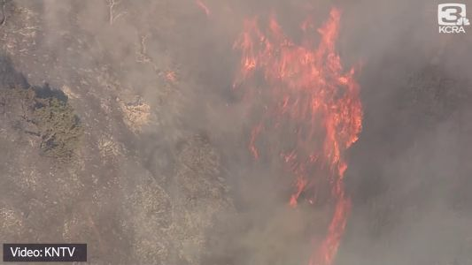 Evacuations in place as crews battle 1000-acre fire in Santa Clara County