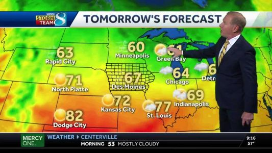 Windy Wednesday ahead with partly cloudy skies
