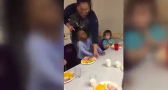 Shocking video shows woman pulling child's hair at day care