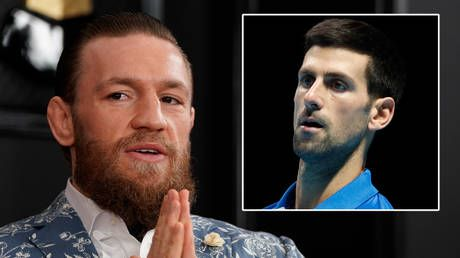 'Get your act together': Conor McGregor slams Novak Djokovic and whinging Australian Open tennis stars over quarantine complaints