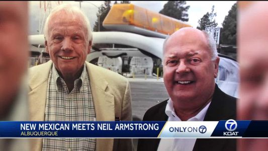 New Mexico man's special friendship with Neil Armstrong
