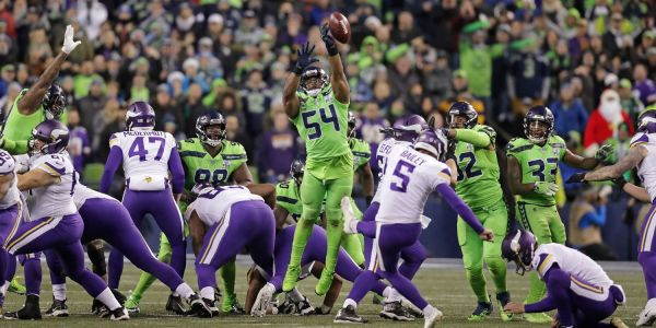 Seahawks Bobby Wagner pulled off an epic field goal block against Vikings, but NFL rules say it should have never happened