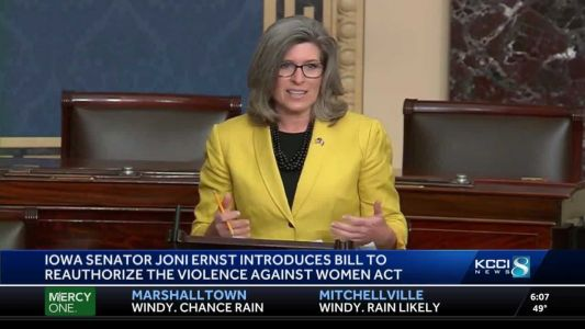 Sen. Ernst introduces bill to protect domestic abuse, sexual assault survivors