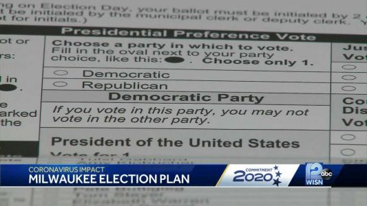 Milwaukee will consolidate polling locations to fewer than 12