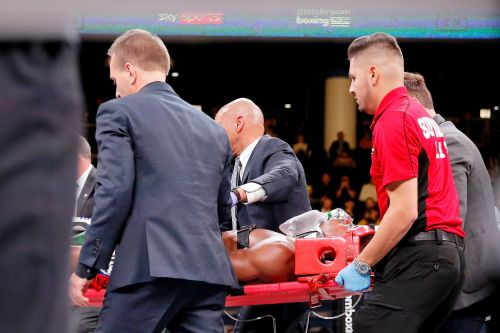 The opponent who left a 27-year-old American boxer in a coma 'fighting for his life' wrote a heartfelt letter saying he cried and considered quitting the sport