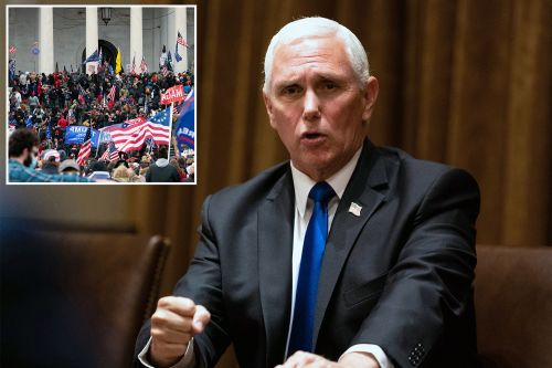 As riot raged, Pence pleaded with the military to 'clear the Capitol'