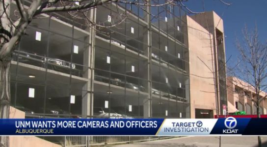 After record year of auto thefts, UNM seeks more cameras and cops