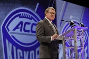 The Latest: Swofford says ACC in 'best shape ever'