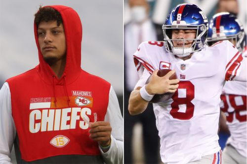 Patrick Mahomes joins in as social media explodes over Daniel Jones trip