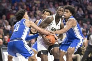 Childress, Demon Deacons stun No. 7 Duke 113-101 in 2OT