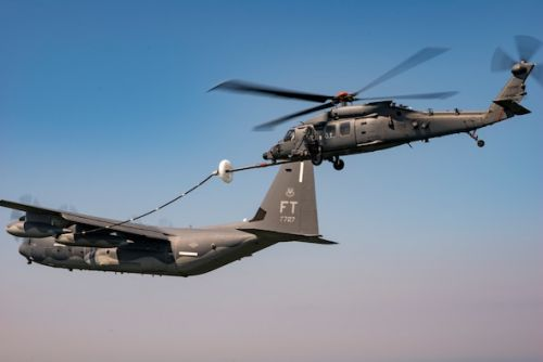 Jolly Green II continues tests, completes first aerial refueling