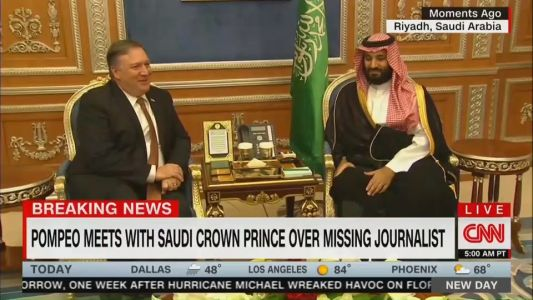 Trump is lying when he says he has 'no financial interests in Saudi Arabia.' This video proves it