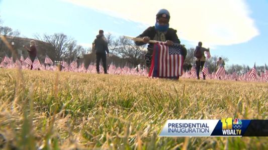 Tourists, locals stumble upon Inauguration Day souvenirs at National Mall
