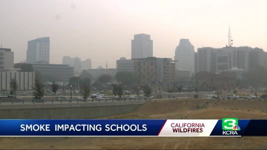 Several school districts close due to smoke & poor air quality
