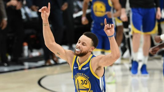NBA playoffs 2019: Stephen Curry gets triple-double as Warriors sweep Trail Blazers
