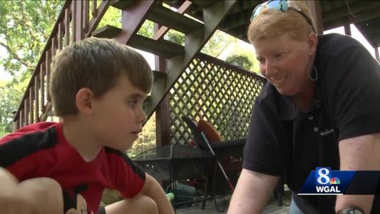Day camp provides opportunities for children with vision problems during coronavirus pandemic