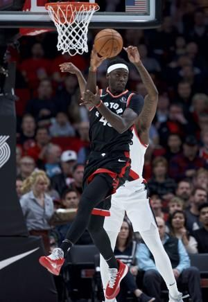 Siakam, VanVleet lead Raptors past Trail Blazers 114-106