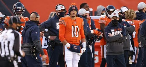 Mitchell Trubisky has tried to make the most of his time as the Bears' backup
