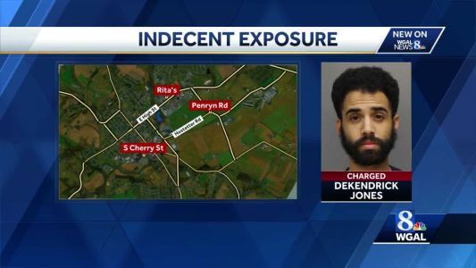 Manheim man charged with indecent exposure