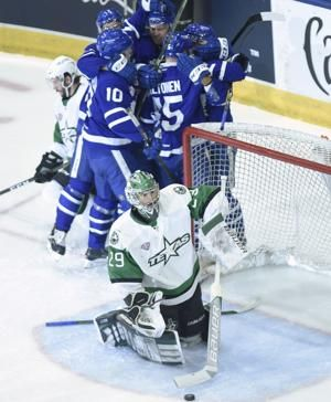 Toronto Marlies beat Texas Stars 6-1 to win Calder Cup final in seven games