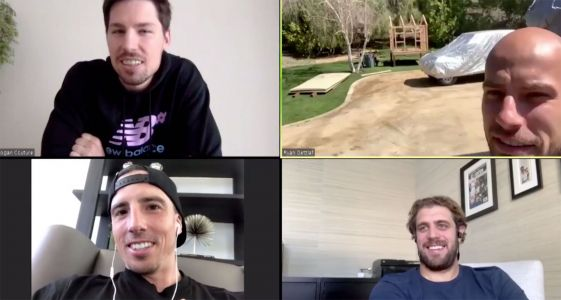 NHL's video calls are getting odd: Chicken coops, 'weird pictures'