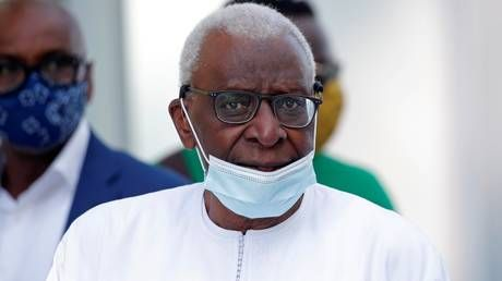 Former track federation president Lamine Diack found guilty of corruption; sentenced to 2 years in prison, fined $590K
