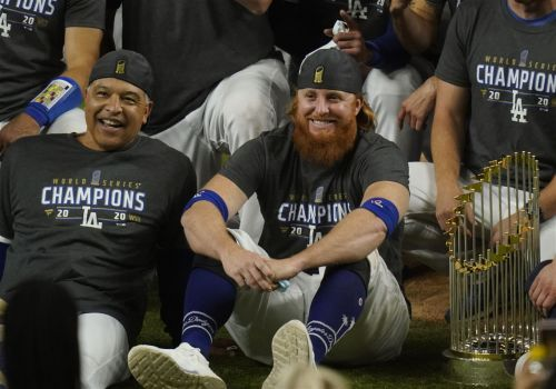 Fitting finale: Dodgers win title, Turner tests positive
